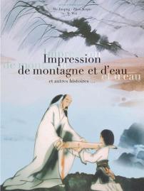 IMPRESSION DE MONTAGNE ET D'EAU