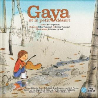 Gaya et le petit désert COUVERTURE